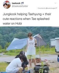 Bts Memes Hilarious, Bts Funny Videos, Foto Bts, Taekook, Die Beatles, J Hope Dance, K Pop, V Bts Wallpaper, Bts Tweet