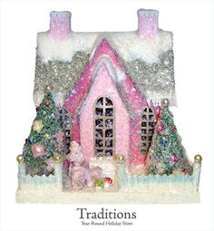 I bought this little house this year.. SOOO adorable! Cody Foster American Folk Art