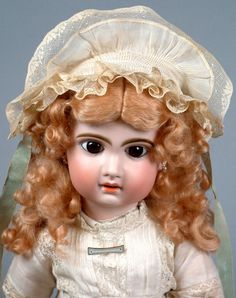 """SUBLIME CLASSIC 23"""" FRENCH Jumeau Antique French Doll Size 10 Starts at $1 NoRes"""