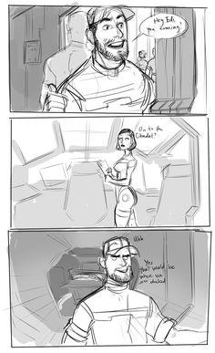 EDI & Joker comic part 1