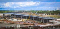 Las obras de expansión del aeropuerto de Panamá están al 80%