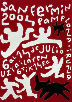 San Fermin Pamplona Festival 2004 Festival PosterVintage 2004 advertising poster announcing the annual San Fermin Pamplona Festival 2004Posterwhich is held in the Pamplona,Spainevery year.The Final Touch to your decorationOur posters create a highly decorative visual getaway in your home decor.Hang San Fermin Pamplona Festival 2004Posterand create a new window onto your favourite places and the most precious moments of your life.Poster SpecificationsThe frame is not included in the… Cool Posters, Film Posters, Music Posters, San Fermin Pamplona, Pamplona Spain, Ready Player One, Travel Illustration, Festival Posters, Art Graphique
