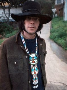 Neil Young - Buffalo Springfield 'daze' - 1968. Have listened to him all day, everyday...I am disabled and his music helped through much pain.....