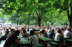 English Garden in Munich