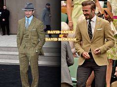 David Gandy vs David Beckham