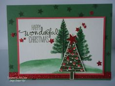 handmade by Julia Quinn  -    Independent Stampin' Up! Demonstrator: Festival of Trees and Stars