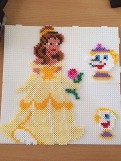 Belle  hama beads by Camilla Merstrand