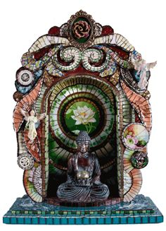 Buddha Shrine by Susan Wechsler