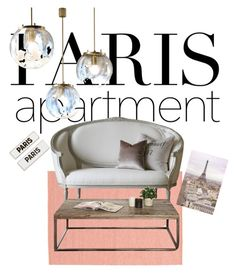 """My Paris house"" by cowgirl2002 ❤ liked on Polyvore featuring interior, interiors, interior design, home, home decor, interior decorating, Rosanna, WALL and parisapartment"