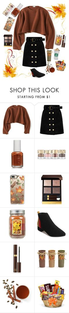 """""""Fall"""" by heidihansen0505 on Polyvore featuring Uniqlo, Essie, Smith & Cult, Casetify, Tom Ford and Holiday Memories"""