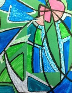 1000 images about art focal point on pinterest focal for Abstract art definition for kids