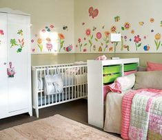 Shared Bedroom Ideas for Adults Unique D Bedroom for Baby and Child Kid Design Ideas Interior Design Inspirations Boy And Girl Shared Bedroom, Shared Boys Rooms, Shared Bedrooms, Girls Bedroom, Small Shared Bedroom, Bedroom Ideas, Toddler And Baby Room, Toddler Rooms, Kids Rooms