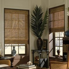 Discount blinds and shades. Great selection of faux wood blinds, bamboo shades, cellular shades and more. Window coverings at outlet prices. Woven Wood Shades, Bamboo Shades, Bamboo Blinds, Wood Blinds, Window Blinds, House Blinds, Roman Blinds, Bay Window, Window Coverings