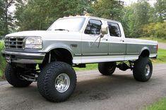 Big Ford Trucks, Classic Ford Trucks, Lifted Ford Trucks, Cool Trucks, Lifted Chevy, Chevy Trucks, Lifted Dually, Farm Trucks, Ford Diesel