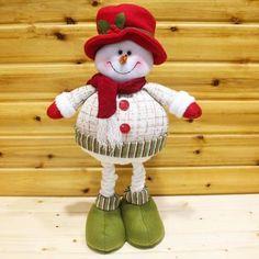 Bonhomme de neige chapeau rouge