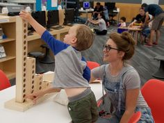 Learning is Beautiful Initiative with kids and Libraries supporting early computational literacy with Montessori-inspired play.
