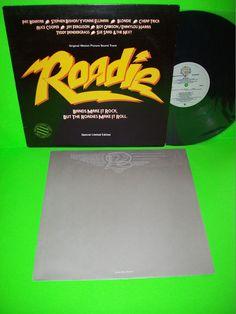 Roadie Soundtrack 1980 Vintage Vinyl  PROMO LP #AliceCooper #Blondie #CheapTrick #PopRock #1980s #NewWave