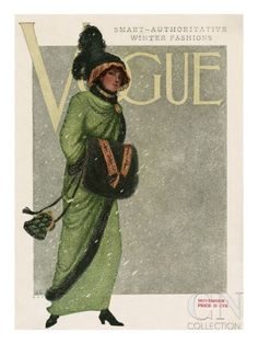 Vogue Cover - November 1910 Poster Print at the Condé Nast Collection