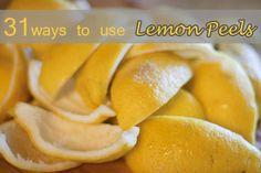 31 Ways To Use Lemon Peels