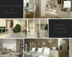 - Corso Italia (MI) - 3 locali - 109 mq - €860.000 ➡️ Proponiamo a Milano, adiacenze Corso Italia, stupenda mansarda in stabile di fine '800, in fase di totale restauro conservativo.