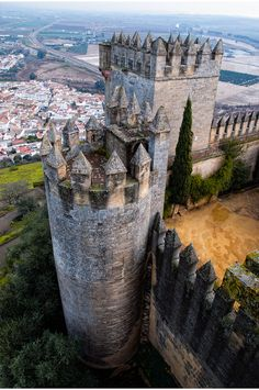 Castillo de Almodóvar del Río is a castle of Muslim origin in the town of Almodóvar del Río, Province of Córdoba, Spain. Previously a Roman fort, the current structure has Berber origins, in the year 760.