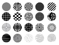 Black and White Lines Free Digital Bottle Cap Images by Folie du Jour