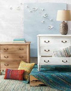 With three generously-sized drawers, the Beckett Three-Drawer Chest offers stylish storage anywhere in your home.