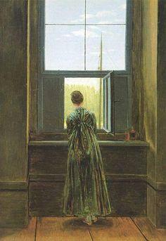 Friedrich - Donna alla finestra