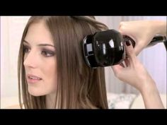 Demo of the NEW Nano-Titanium Mira-Curl iron from Babyliss. Yea I want this! Ha