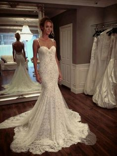 Cheap gown, Buy Quality dresse directly from China dress maroon Suppliers: 2016 New White Lace Tulle Backless Mermaid Wedding Dress Bridal Gown vestido de noiva Robe De Mariage casamento wedding gowns Backless Mermaid Wedding Dresses, Backless Wedding, Long Wedding Dresses, Mermaid Dresses, Bridal Dresses, Wedding Gowns, Bridesmaid Dresses, Prom Dresses, Lace Wedding