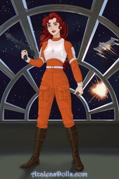 Lunar Chronicles/Star Wars: Scarlet Benoit by diangeloshepherd on DeviantArt