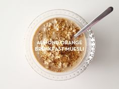 Almonds, oranges, and oatmeal are all nutrient dense foods that help combat anxiety.