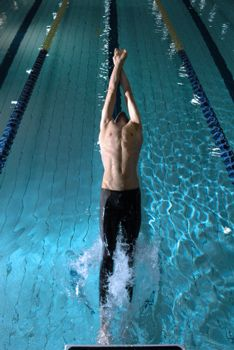 How to do a backstroke start. Gotta look at this entire website, there is some really good stuff. (: