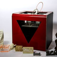 Meet FABtotum the  all in one |  3D copier, 3D printer,  3D scanner, and a CNC milling machine all in one microwave-sized package.