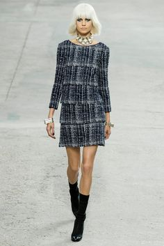 Chanel Spring 2014 Ready-to-Wear Fashion Show - Elisabeth Erm (Elite)