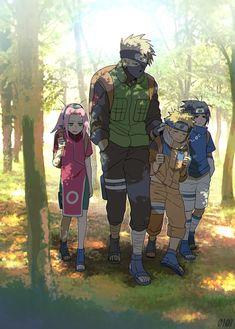 | Save & Follow | Team 7 • Naruto Uzumaki • Sasuke Uchiha • Sakura Haruno • Kakashi Hatake