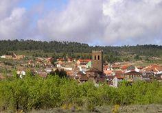 Vista de Aras de los Olmos. Foto: Ayuntamiento de Aras de los Olmos