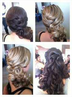 Curly Side Ponytail For Step By Step Instructions Go To