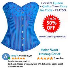 #blue #corset, #designer corset,  #waist training corset, clothing, cloth, dress, tops, #overbust corset dress, #fashion #clothing