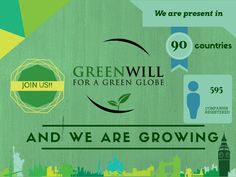 GREENWILL is a non-profit global initiative providing a free green policy to companies, organizations and public bodies across the world. The mission of GREENWILL is to ensure the achievement of environmental, social an Globe, Green, Speech Balloon