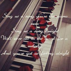 Billy Joel piano man lyrics