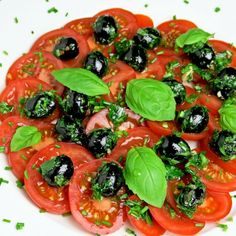 #delicious Tomato Salad with Olives #foodie