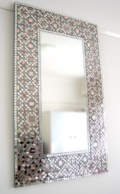 Autumn Sprinkles mosaic mirror by Mirror Envy.