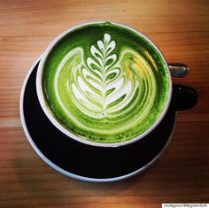 Brew a matcha latte for an antioxidant & energy boost