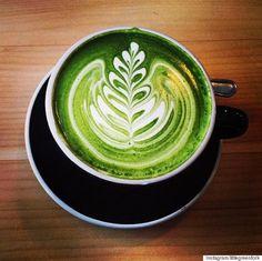 Brew a matcha latte for an antioxidant & energy boost