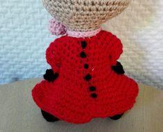Little My from Moomin – free pattern – Katrine Klarer Little My, Little Things, Knit Crochet, Crochet Hats, Cardboard Toys, Thick Yarn, Moomin, Free Pattern, Beige