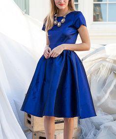 Another great find on #zulily! Blue Nutcracker Dress - Women #zulilyfinds