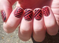 Nail Art and Co: Live Love Carnival // 4 in the Morning : le retour du Striping Tape