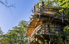 Das perfekte Weihnachtsgeschenk! Außergewöhnliche Baumhausübernachtung in Kriebstein - 2 Tage ab 124,50 € | Urlaubsheld