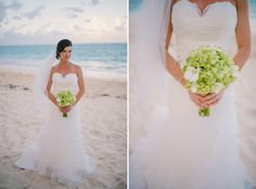 Grand Palladium Punta Cana {Jessica + Philippe} Dominican Republic wedding photographers #sweetandsimple #hydrangiaweddingbouquet #greenweddingflowers
